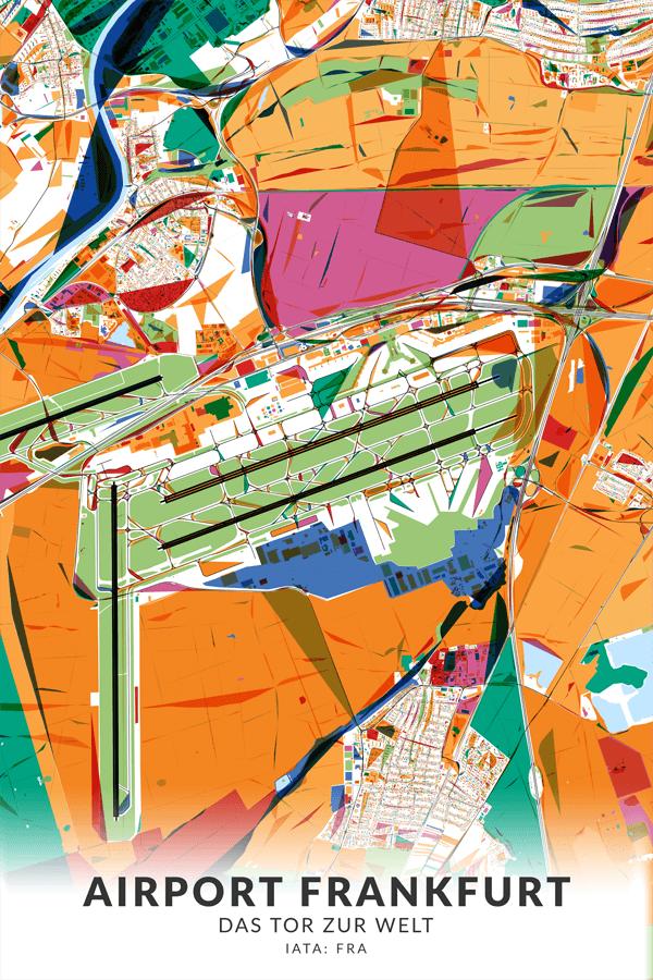 Stadtplan Airport Frankfurt Tor zur Welt