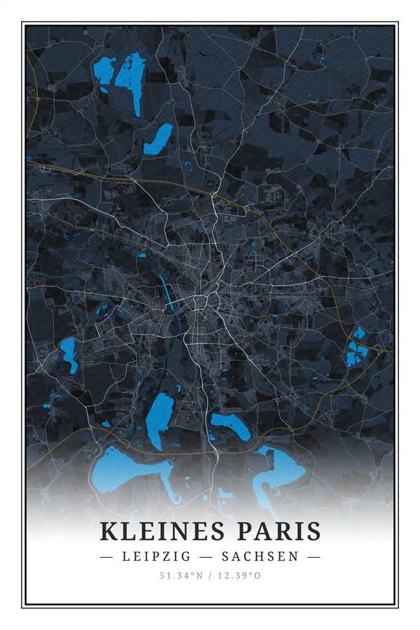 Stadtplan Leipzig Kleines Paris in Sachsen
