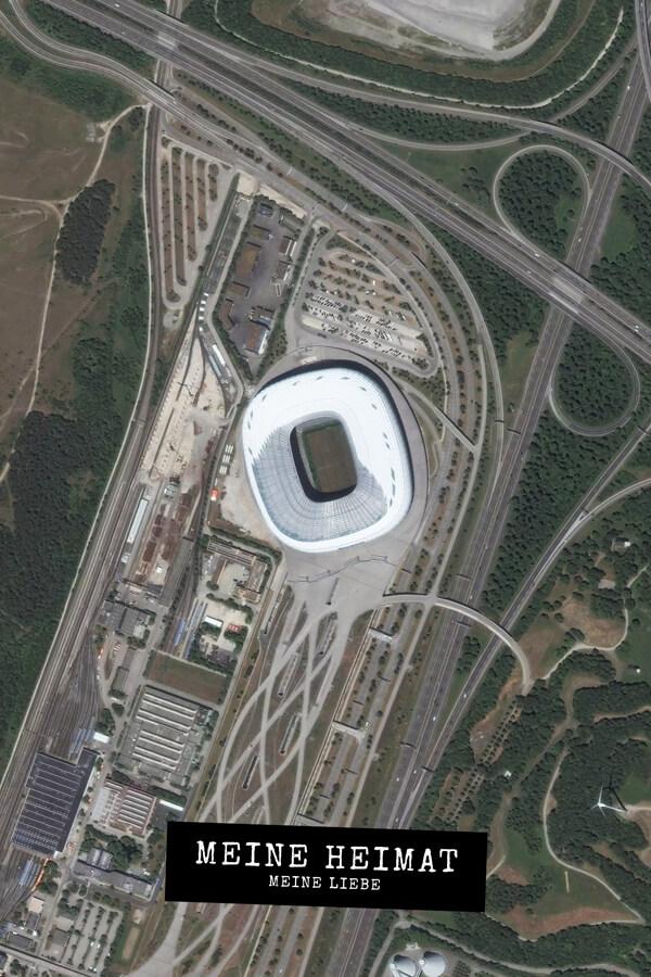 Stadtplan München Stadion Meine Heimat Meine Liebe