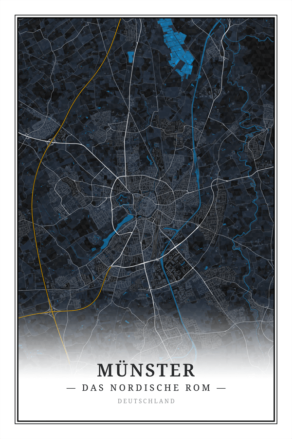 Stadtplan Münster - Das nordische Rom