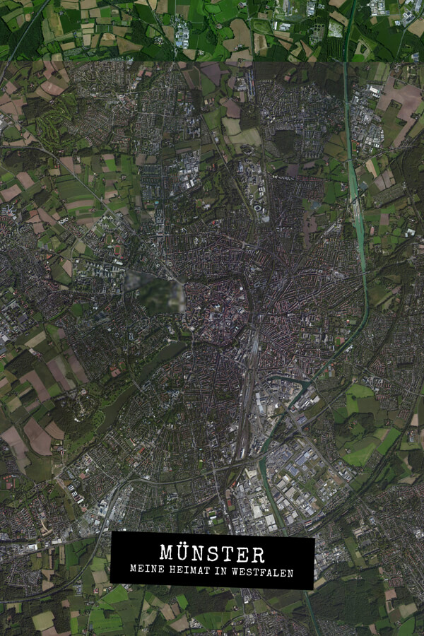 Stadtplan Münster - Meine Heimat in Westfalen