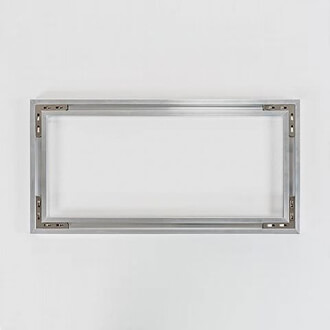 Rückseitig angebrachtes Aluminium-Aufhängesystem