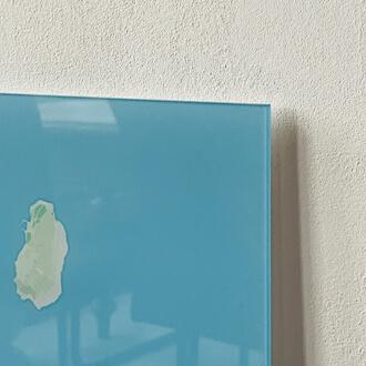 Acrylglas Detailansicht Farbwirkung